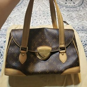 Authentic beverly GM LV bag